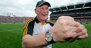Brian Cody: returning for 18th season as Kilkenny hurling manager. Photograph: Morgan Treacy/Inpho