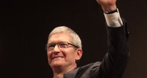 Apple chief executive Tim Cook is in Dublin today to pick up an honorary award at Trinity College Dublin