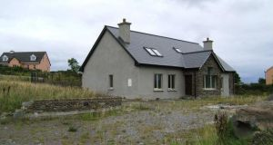 FitzGerald and Associates is seeking €550,000 for this partially built, four-bedroom Dingle, Co Kerry, house