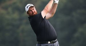 Shane Lowry: will require a top-two finish in the BMW Masters at Lake Malaren if he is to overtake Rory McIlroy in the Race to Dubai standings. Photo: Jan Kruger/Getty Images