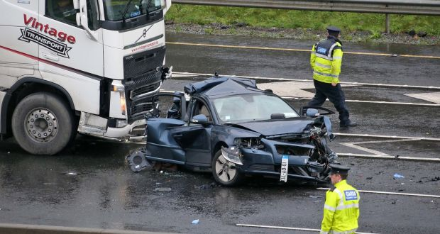 crash at strategic point on m50 exposes vulnerability of city ringroad