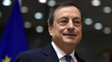 'Downside risks stemming from global growth and trade are clearly visible,' ECB president Mario Draghi said. Photograph: Reuters
