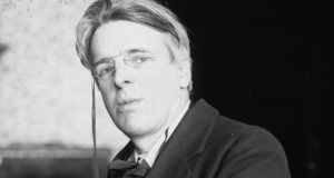WB Yeats: unashamedly elevated imagination over rational calculation