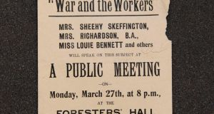 Suffragettes at war