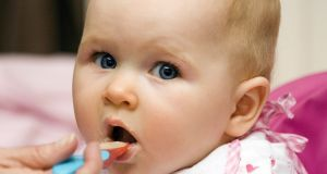 There is evidence that exposing infants to a wide range of tastes at an early stage will lead to healthier eating later in life. Photograph: Thinkstock