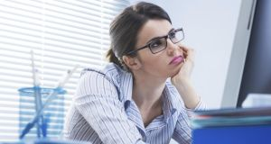 You can tell your boss it is biology not attitude that causes you to be indifferent. Photograph: Thinkstock