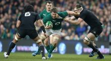 Ireland last took on New Zealand in November 2013. Photo: David Rogers/Getty Images
