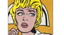 Roy Lichtenstein's 1964 painting was inspired by a comic book image