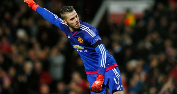 33c6dc7f6 David de Gea says he is happy at Manchester United and has thanked Louis  van Gaal