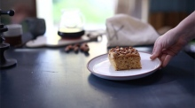 Forkful: Hell's Kettle create a honey roasted hazelnut coffee cake