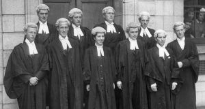 Law Library: Máire Mhac an tSaoi was the first woman to be called to the Bar in Ireland. Photograph: family collection