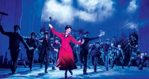 Zizi Strallen as Mary Poppins. Photograph: Johan Persson