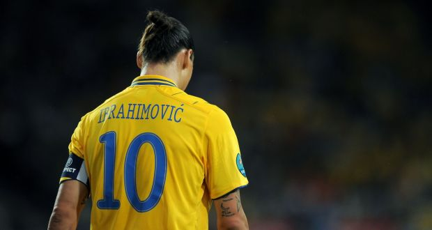 ae681d047 Zlatan Ibrahimovic has been named Swedish footballer of the year for the  last nine years.