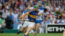 Tipperary's James Woodlock and Colin Dunford of Waterford in this year's Munster final. Photograph: Ryan Byrne/Inpho