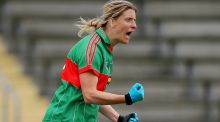 Mayo's Cora Staunton has now got 10 All Stars to her name. Photograph: Cathal Noonan/Inpho