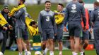 Shane Long has returned to Ireland training. Photograph: Donall Farmer/Inpho