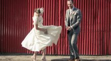 Our Wedding Story: Love, Tayto and some Honda 50s