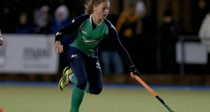 Ireland International Chloe Watkins was among the scorers for Hermes. Photograph: Donall Farmer/Inpho