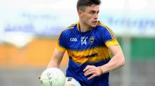Michael Quinlivan led his team to a Munster final showdown with Nemo Rangers. Photograph: Ken Sutton/Inpho
