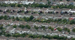 Housing in Dublin. File photograph: Frank Miller/The Irish Times