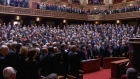 French parliament spontaneously sing La Marseillaise