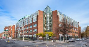 One Earlsfort Terrace:  let to one of Ireland's leading law firms, Eversheds, at a rental income of €630,000 per annum