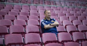 Eddie Jones has moved from coaching the Japanese national rugby team which defeted South Africa during the recent 2015 Rugby World Cup to the Stormers. Photograph: Getty Images