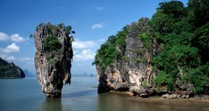 James Bond Island in Phang Nga Bay. Photograph: Raimund Franken/ullstein bild via Getty Images