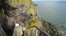 A Walk for the Weekend: A cliffhanger on Gobbin's Walk in Antrim