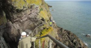 Consisting of a series of bridges, tunnels, walkways and staircases clinging tenaciously to vertiginous, basalt cliffs, the path offered a close and personal experience of coast and cliff