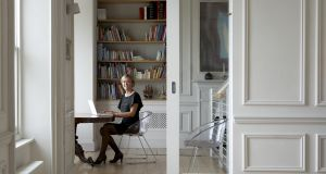 Gillian Sherrard and her Victorian home in Sandycove which she reconfigured