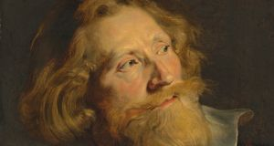 'Head of a Bearded Man', by Sir Peter Paul Rubens.