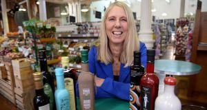 Karen Cryan who tastes and reviews different types of olive oil. Photograph: Eric Luke / The Irish Times