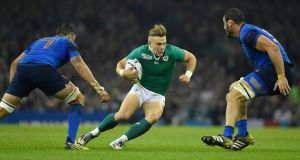 Ball control: the TV3 deal covers the Six Nations tournaments from 2018 to 2021.  Photograph: Reuters/Toby Melville