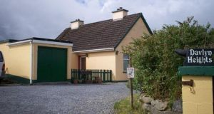 Green Valley Properties is seeking €129,000 for this two-bedroom house in Ballymacraven, Kilfenora, Co Clare