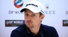 "Justin Rose fancies his chances of victory in  2015 DP World Tour Championship in Dubai, UAE. The tournament is  the final event in golf's ""Race to  Dubai"". Photograph:  David Cannon/Getty Images"