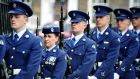 Members of the Air Corps in Merrion Square in Dublin. File photograph: Aidan Crawley
