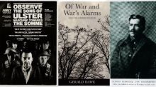 Ireland's war poets and writers, from WWI to the Troubles