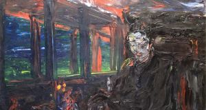 Man in a Train, Thinking by Jack B Yeats is estimated by de Veres at €200,000-€300,000