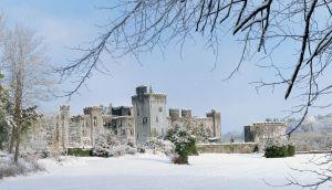 Ashford Castle in winter