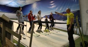The Ski Centre in Sandyford offers lessons on a 10-minutes-one, 10-minutes-off basis, and parents and children can learn at the same time.