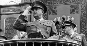 Spanish general Francisco Franco in the 1960s:  the dying Franco became the butt of jokes before his death in 1975. Photograph: AFP/AFP/Getty Images