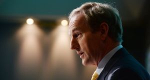 Enda Kenny: the Taoiseach is on record saying he will target a balanced budget by 2018 if he returns to power early next year. Photograph: Alan Betson