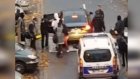 Eyewitness footage: family of Paris suicide bomber arrested