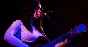 Chelsea Wolfe at the Sugar Club in 2013. Photograph: Alan Betson/The Irish Times
