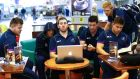 Connacht players wait in Moscow airport after a number of delayed flights - 13 of the travelling party are in the squad for Saturday's game. Photograph: James Crombie/Inpho