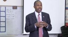 Carson makes comparison between Syrian refugees and rabid dogs
