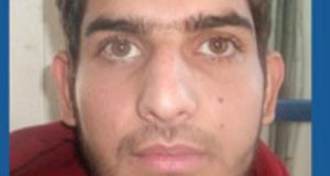 Islamic State attacker: a registration photograph from a document issued to 25-year-old Ahmad Almohammad