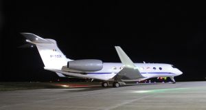 Gulfstream: Denis O'Brien's G650 at Dublin Airport