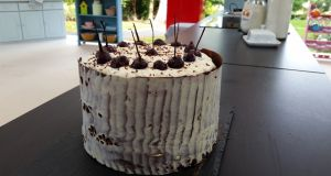 'My Great Irish Bake Off Black Forest Gâteau'